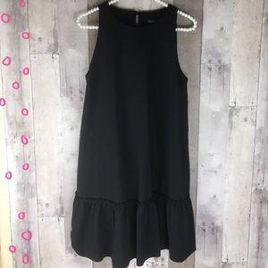 NWT Banana Republic black fit & flare dress size 6